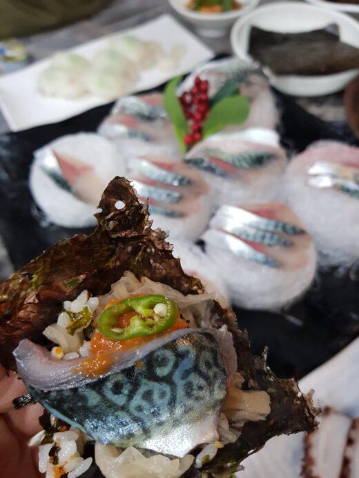 Jeju Island Seafood Mackerel